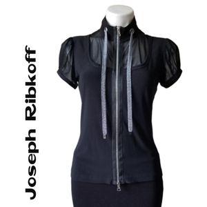 Joseph Ribkoff Black Jacket - Size 8